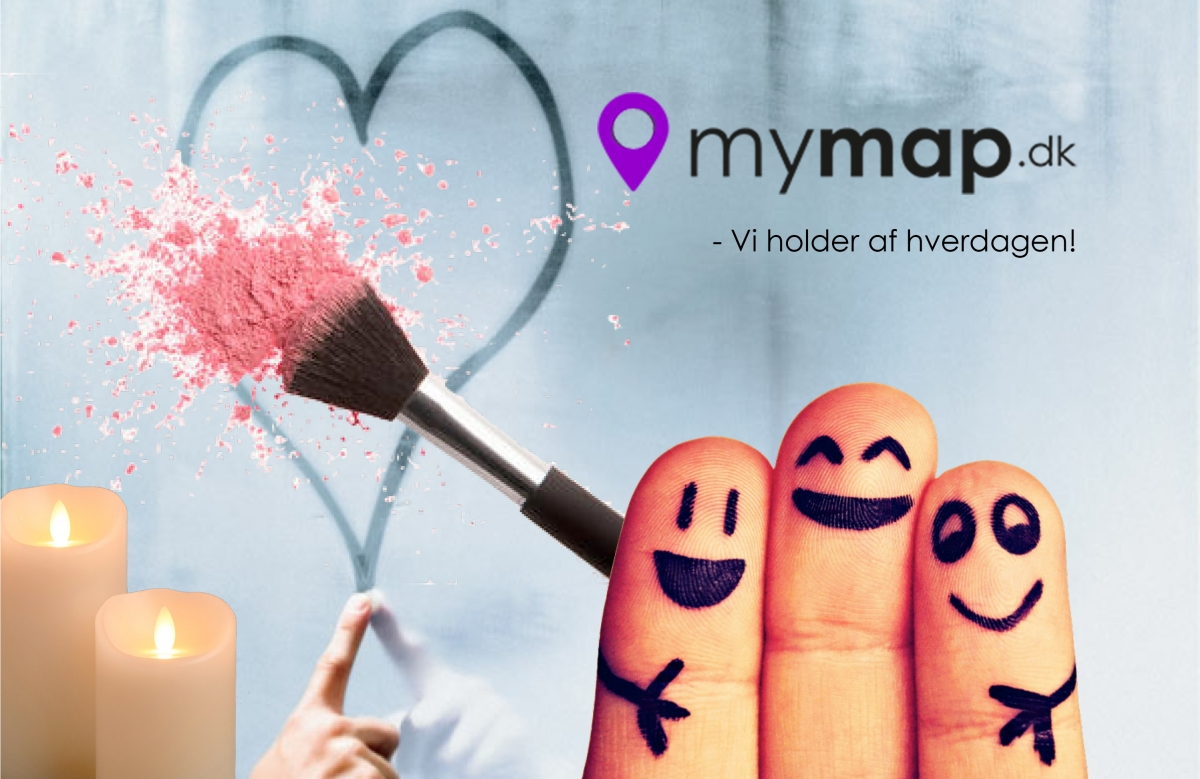 blog: jeg holder af hverdagen, MEN... mymap.dk